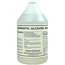 Isopropyl Alcohol Grade 99% Anhydrous (IPA)-1 Gallon (128 oz.)
