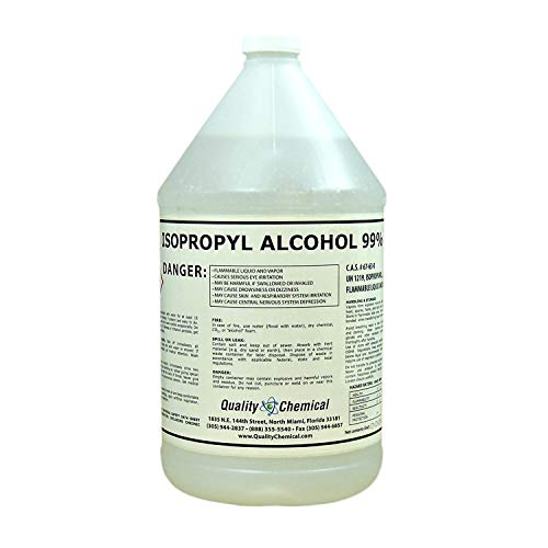 Quality Chemical Isopropyl Alcohol Grade 99% Anhydrous (IPA)-1 Gallon (128 oz.) ()
