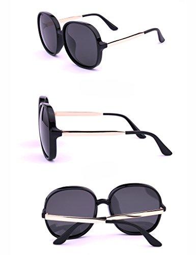 Lunettes Polarisées de Fashion B Soleil Soleil D Drive de Couleur Big Lunettes Glasses Ms Frame qpEXBxx