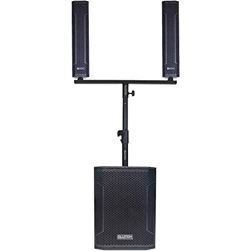 Clutch VA-3SP Powered Active Column Array PA DJ Speaker System w Bluetooth