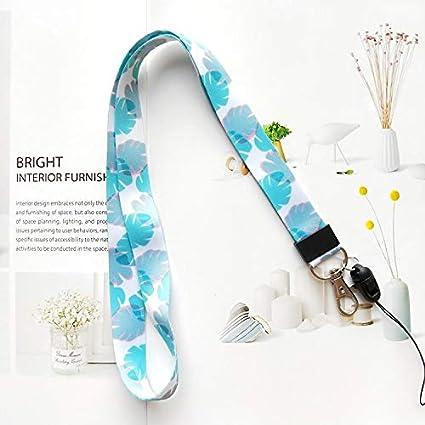 Cordón Correa Para El Cuello con alta calidad, impresión a doble cara en a todo color y ideal para funda para ID Badge Keys MP3 USB soporte, color ...