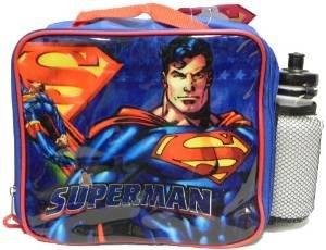 Superman Returns Lunchbox Lunch Bag Sports Water Bottle