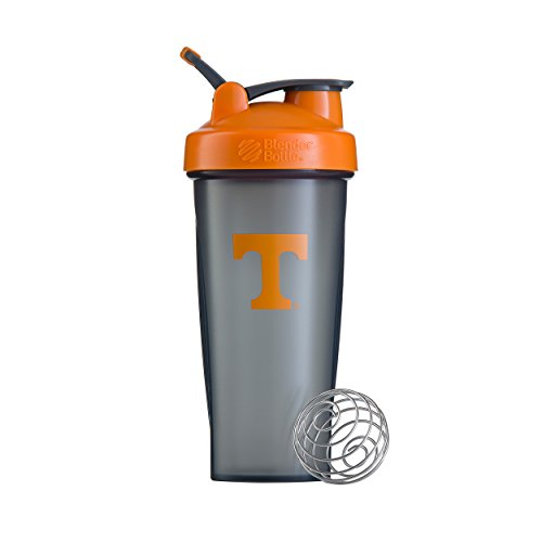 (BlenderBottle Collegiate Classic 28-Ounce Shaker Bottle, University of Tennessee Volunteers - Grey/Orange)