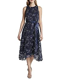 Women's Sleeveless Fit and Flare Gown