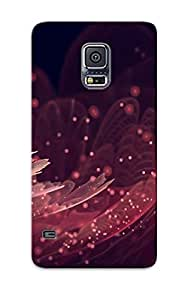 Galaxy S5 Ikey Case Cover Skin : Premium High Quality Fractal Flower Case(nice Choice For New Year's Day's Gift)