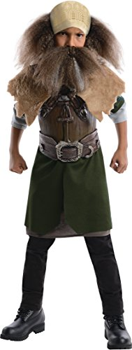 The Hobbit, Deluxe Dwalin Costume - Medium - Hobbit Costume Shirt