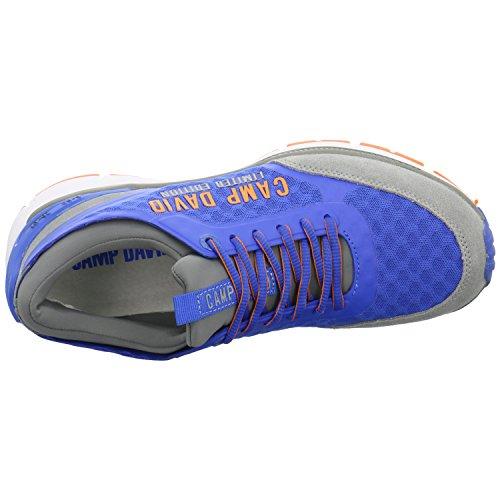 Sky Sneaker David Sportlicher Camp Deep aus Mesh aEwYcgqd