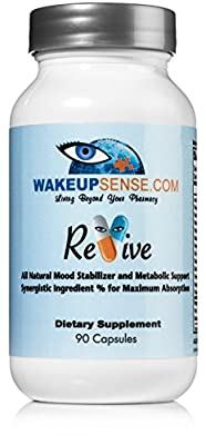5 HTP - Patent Pending Formula - Clinically Proven - 90ct Pure 100mg Vegetarian Capsules - All Natural With 0 Toxicity Promoting Healthy Energy and Mood Support