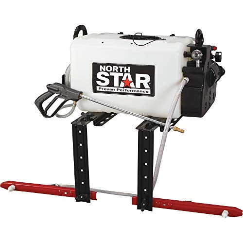(NorthStar Broadcast and Spot Sprayer with 2-Nozzle Boom- 16-Gallon Capacity, 2.2 GPM, 12Volts )