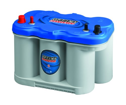 Marine Boat Batteries - Optima Batteries 8027-127 D27M BlueTop Starting and Deep Cycle Marine Battery