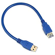 Ayangyang USB 3.0 80cm Top Speed 5gb Usb 3.0 Extension Cable USB 3.0 A Male To A Female Extension USB Cable 5Gbps Super High-Speed