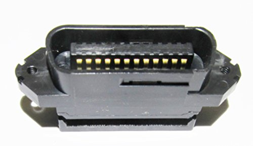 GPIB Connector, Ribbon Cable IDC Mount 24 position Male, IEEE-488, AMP 553598-1