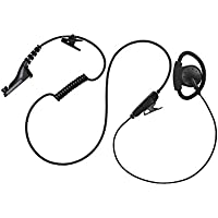 Maxtop AEH2000-M9 D-Sharp Earhanger Earphone for Motorola XPR-6500 XPR-6550 XPR-6580 XPR-7350 XPR-7380 APX-4000