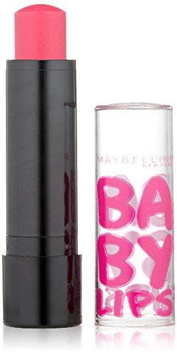 (Pack 2) Maybelline New York Baby Lips Balm Electro, Pink Shock, 0.15 Ounce