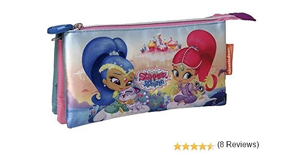 Shimmer and Shine-PT-03-SS 0 Estuche portatodo Triple Bordado, 0 (CYP Imports PT-03-SS): Amazon.es: Juguetes y juegos