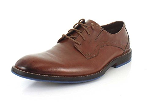 Clarks Mens Prangley Walk Oxford British Tan