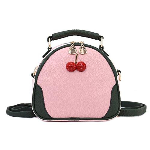 Cutogain - Bolso al hombro para mujer, rosa (Rosa) - 1kr3cs8zp6nl4up9D04 Rosa