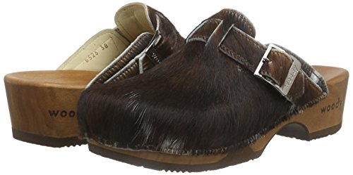 367 Woody Marron Manu Femme 6526 h4 tr Chaussures xqwB60UHwp