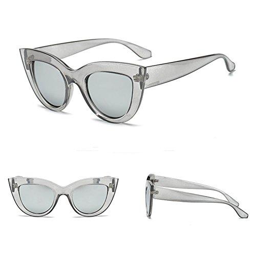 Lunettes de yuxin eye Mirror Lunettes soleil Vintage Eyewear C10 soleil Retro Cat de Sunglass Femmes qxCSfvqnz