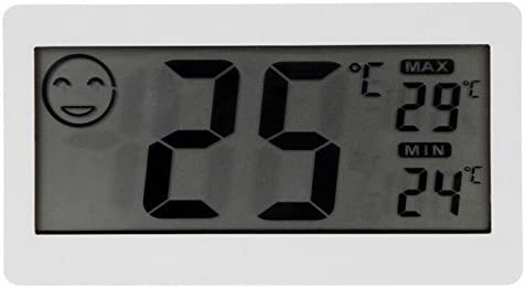 Karen Low New!! LCD Digital Thermometer and Hygrometer Temperature Humidity Meter Small with Stand