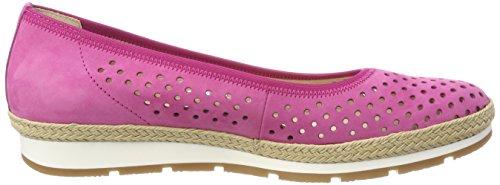 Comfort Pinkjute Sport n Multicolore Ballerine Gel Donna S Gabor Punta Chiusa 7gCqwxqpT