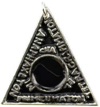 (Solomon`s Magic Triangle to Bind Evil Spirits Necklace)