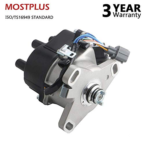 (MOSTPLUS TD44U New Ignition Distributor for 1992 1993 1994 1995 Honda Acura Integra B16A OBD1 B16A2)