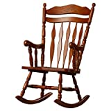 Greenwood Rocking Chair, Medium Oak Finish