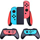 Nintendo Switch Joy-Con Grip (Updated Version),HEYSTOP [3-Pack] Wear-Resistant Game Controller Handle Kit for Nintendo Switch Joy-Con