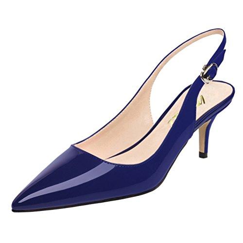Talons Chaussures Blau à Vocosi Femmes OBTHEwq
