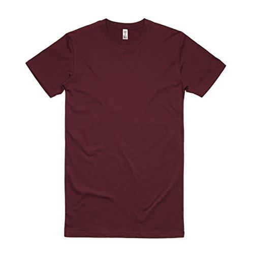 Burgundy Pocket Tee (Have It Tall Men's Extra Long T Shirt Burgundy X-Large)