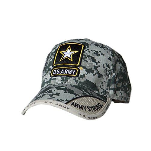 Digital Pixel Army Star Logo Cap (Pixel Camo Army Cap)
