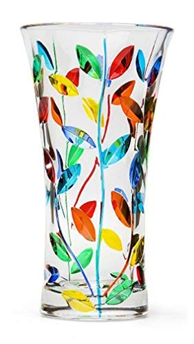 Large Tree Of Life Vase Hand Painted In ()
