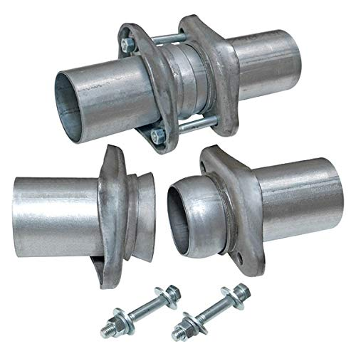 Flowmaster 15923 Header Collector Ball Flange Kit - 3.50 in. to 3.00 in. - Pair (3 Exhaust Ball Flange Kit)