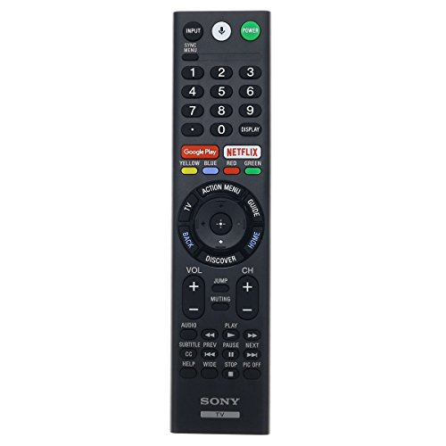 Factory Original Sony RMF-TX300U Smart TV LED 4K ULTRA HDTV Remote Control For Sony Television (RMFTX300U / 149331811) with Google Play and Netflix