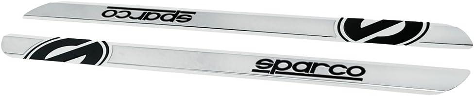 Sparco OPC13130201 Juego de Umbral, Negro, 450 X 40 mm