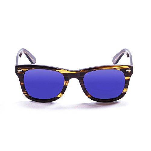 Ocean Sunglasses Lowers Lunettes de soleil Brown/Revo Blue Lens GOclbR