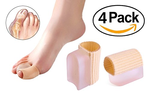 ERGOfoot Fabric Toe Separators 4 PCS Gel Toe Straightener for sale  Delivered anywhere in USA