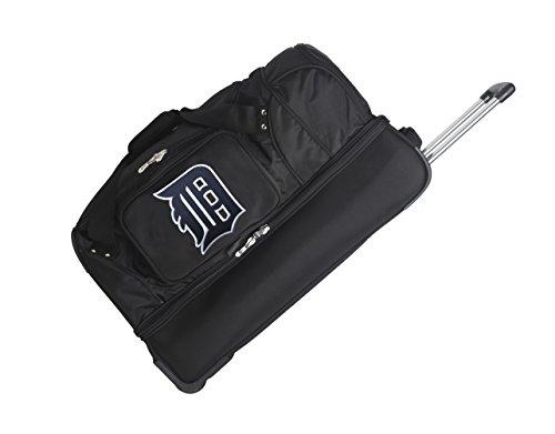 MLB Detroit Tigers Rolling Drop-Bottom Duffel - Detroit Tigers Duffel Bag