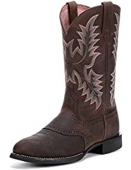 Ariat Mens Heritage Stockman Western Boot, Native Nutmeg, 7 D US