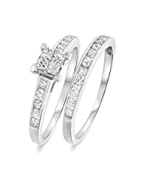 Solitaire Fashion Stud Earrings 14K Black Gold Over .925 Sterling Silver 5MM RUDRAFASHION 2.50 CT Princess Cut Tanzanite