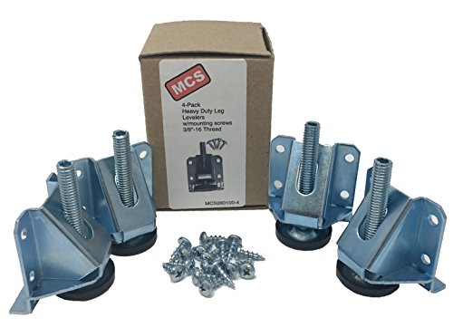 MCS280100-4 Heavy Duty Adjustable Leg Leveler Set