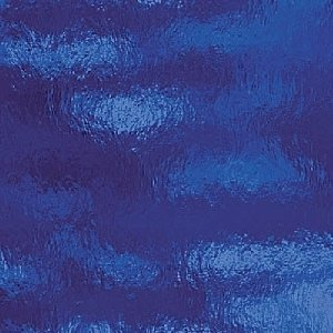 (Spectrum Dark Blue Cathedral Rough Rolled Stained Glass Sheet - 8