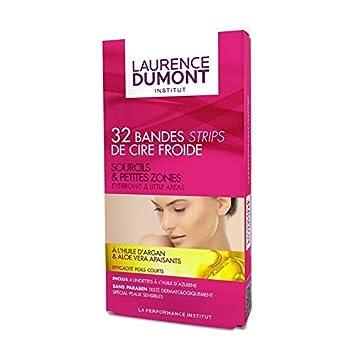 Laurence Dumont - Cinta De Cera Para Cejas Del Paquete De 32 Bandas ...