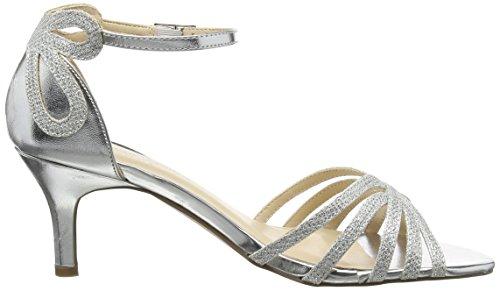 Caviglia Cinturino Alla Donna silver Silver Paradox Sandali Con London Pink Melby XBwq0S