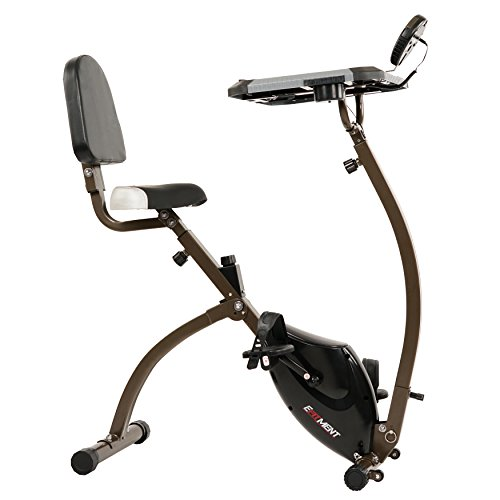 Folding Desk Bike, Workstation Exercise Bike for Laptop by EFITMENT - B027