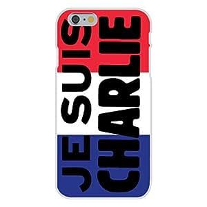 "Apple iphone 5c Custom Case White Plastic Snap On - ""JE SUIS CHARLIE"