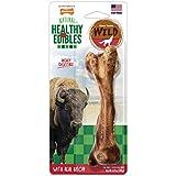 Nylabone 1 Count Healthy Edibles Large Wild Bison Dog Treat Bones, 4.9 Oz