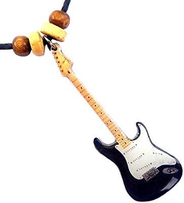 Collar con colgante forma guitarra Fender Stratocaster Eric ...