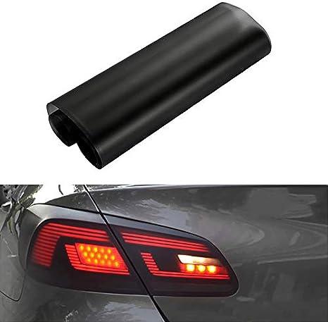 DD-BOMG Auto Matte Black Tint Scheinwerfer R/ücklicht Nebelscheinwerfer Vinyl Hinten Film Lampe T/önungsfolie 30 150 CM